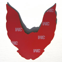 Pontiac Turbo Trans Am Rear Bird Emblem Tape