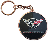 NEW!!  C5 Corvette Word Keychain