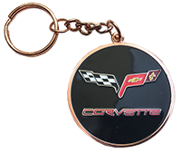 NEW!!  C6 Corvette Word Keychain